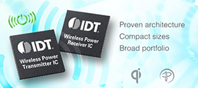 IDT is a leader in wireless power ICs for wireless power transfer systems
